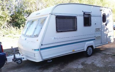 1997 Bailey Ranger 440/4 berth touring caravan NO RESERVE