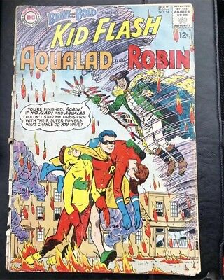 Brave And The Bold 54 Key Issue First App Of The Teen Titans FR 1.5