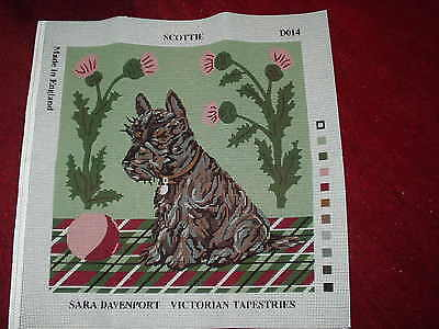 Sara Davenport Tapestry Canvas. Scottie. Do14.bn