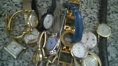 Job Lot Of old  Watches Spares Or Repair