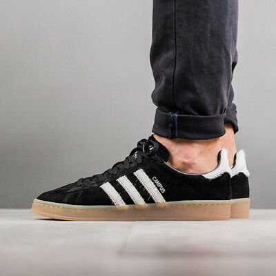 wholesale dealer 1957d 8a38f Mens Adidas Campus 80s Sneakers New, Black Pony Hair Jeremy Scott BZ0071