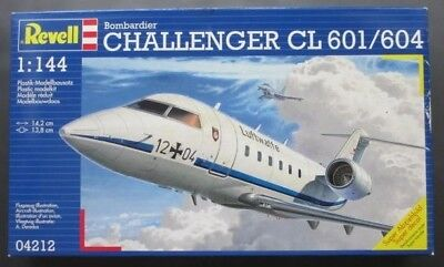 Revell 04212 Bombardier Challanger CL 601/604 1:144