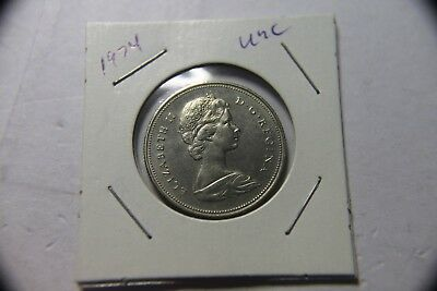 1974 Canadian Half Dollar .50¢ Fifty Cent Piece Coin Unc