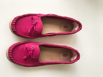 ugg shoes, women's shoes, loafers, pink loafers, moccasins