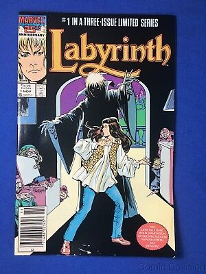 Labyrinth #1 Mid/high Grade Copper Age Marvel Comic Movie Jim Hensen David Bowie