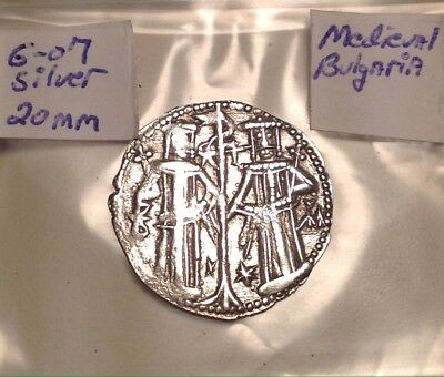 Medieval Silver Christ Crusader 22mm Absolutely Gorgeous Coin Hard To Find HQ