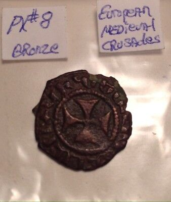 Medieval Bronze Armenian Crusader In High Quality Condition 1185-1242AD Sizzler!