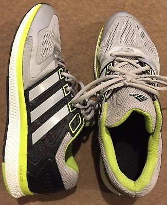 Adidas Bounce Mens Trainers Uk Size 9.5 In Grey/black