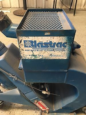 Portable Blastrac Cleaning System, A140359, 18Dec Used