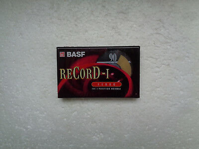 Vintage Audio Cassette BASF reCorD-I 90 * Rare From 1997 *