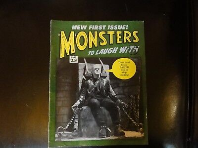 Rare Monsters to Laugh With Issue 1 Stan Lee 1964 Non-Pariel