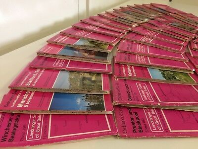 Historical Vintage Ordinance Survey Maps - Job lot x42