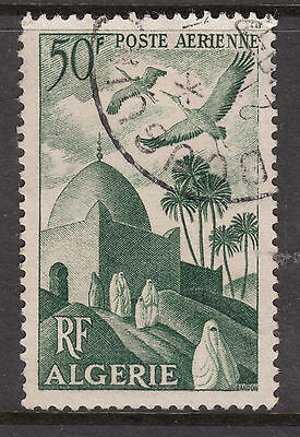 ALGERIA 1949 50fr AIR  VFU