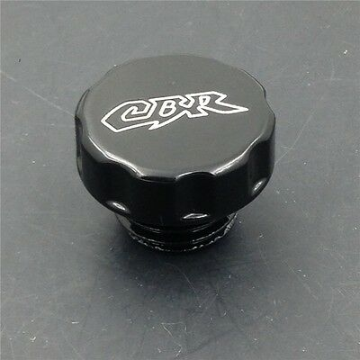 Billet Oil Reservoir Cap For Honda Cbr 600 F3 F4 F4I 900 929 954 Rr Black