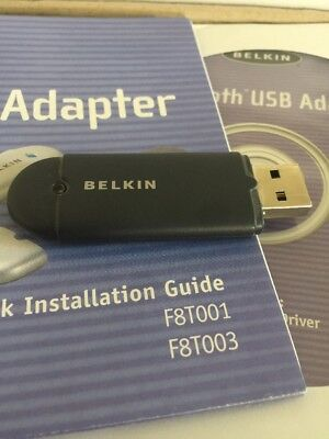 BLUETOOTH USB ADAPTER BELKIN F8T012 DESCARGAR CONTROLADOR