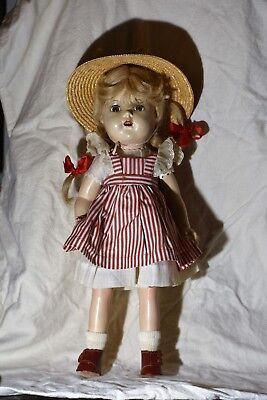 """Vintage Madame Alexander Composition McGuffey Ana Doll Great Condition 15"""""""