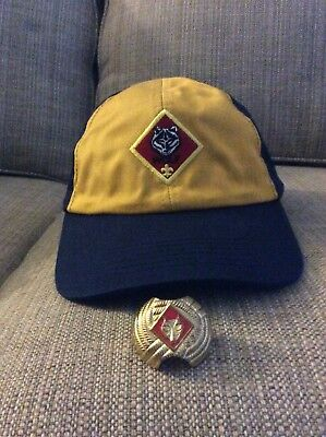 BSA Cub Scout WOLF Hat with Slide