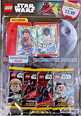 Lego Star Wars Trading Card Multi Pack With 2 Limited Edition Cards