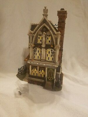 Department 56 All Hallows' Eve Mordecai Mould Undertaker Item#58509