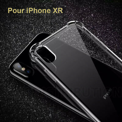 coque transparente antichoc iphone xr