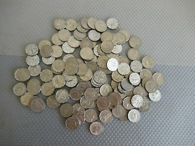 Large Unsorted Group Of 1940's & 1950's Canadian Nickels ++ Must See This One