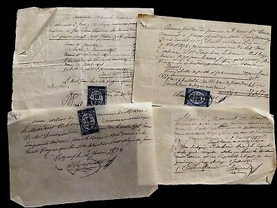 Collection of 1800s Old Documents