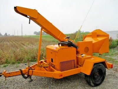Performance first 1290 diesel wood chipper 12 inch drum chipper with duetz diese