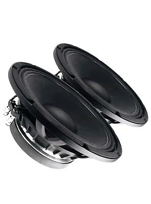 "Faital Pro 12FH520 12"" PAIR High Power Woofer Mid-Bass Speaker 8ohm 1000 3"" VC"