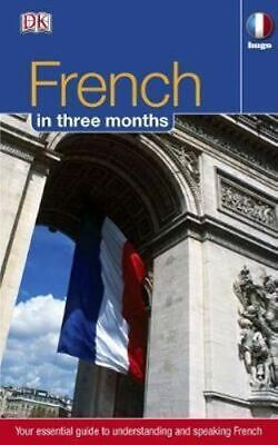 NEW French in 3 Months By DK Language Course Book with Other Items Free Shipping