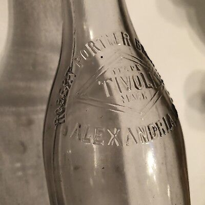 Robert Portner Brewing Co Alexandria VA Glass Beer Bottle Tivoli TM