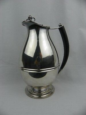 Mid Century Norwegian PB Alpacca Silver Plated Milk Cream Jug Pitcher Vintage
