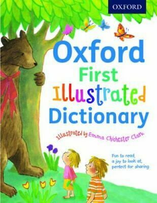 NEW Oxford First Illustrated Dictionary By Andrew Delahunty Paperback