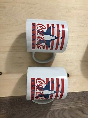 Coca Cola Mugs Lot Of Two