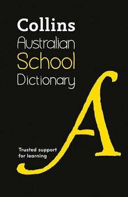 NEW Collins Australian School Dictionary By Collins Dictionaries Hardcover