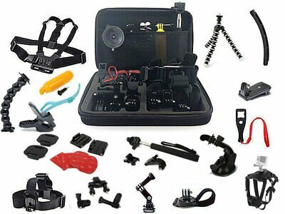 33in1 Head Chest Mount Floating Monopod Accessories Kit For GoPro 2 3 4 Camera