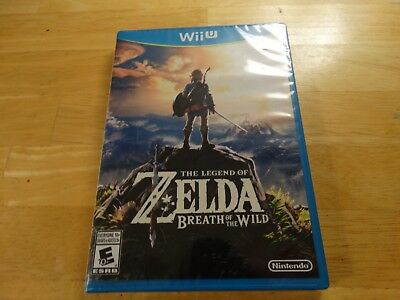 Legend of Zelda: Breath of the Wild, Nintendo Wii U, Brand New / Factory Sealed!