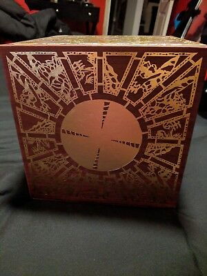 Mondo Hellraiser Wood Lament Configuration Puzzle Box Only Clive Barker