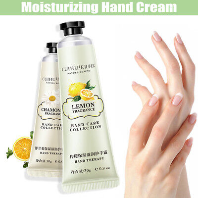30g Hand Care Nourishing Cream Moisturizing Scented Lotion Fragrance Gift