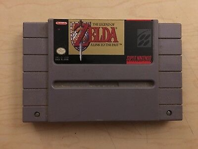 Snes Super Nintendo The Legend Of Zelda A Link To The Past Video Game Cartridge