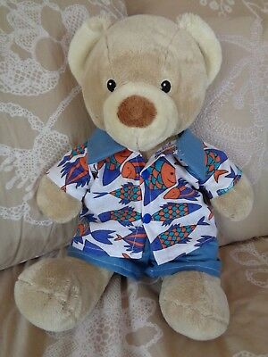 Clothes to fit boys Build a bear and Pumpkin Patch teddy shirt and shorts set