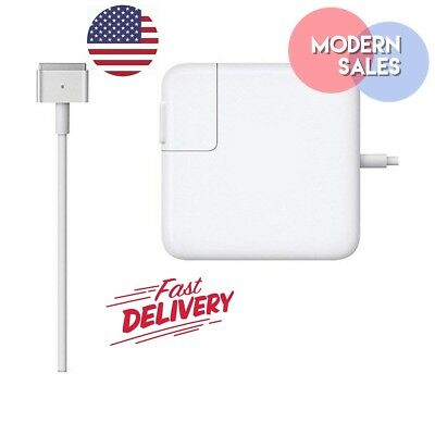 "Apple 60W MagSafe 2 Charger Power Supply AC Adapter for MacBook Air & Pro 13""11"""