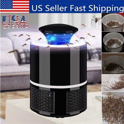 Mosquito Insect Killer USB Electric LED Light Fly Bug Zapper Trap Catcher Lamp V