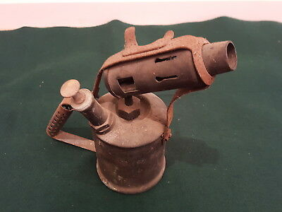 Vintage Retro Antique ? Brass Companion Blow Torch Heat Gun Kerosene