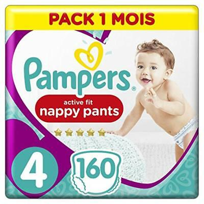 Pampers Premium Protection Pants Dimensione 4, 160 pannolini, 1 mese Box - NUOVO