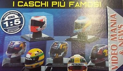 Caschi /helmets F1 Scala 1.5 +Booklet Centauria (Various Select)