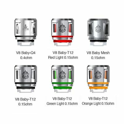 Resistenza SMOK V8 Baby Replacement Coil 5pcs Light, Led