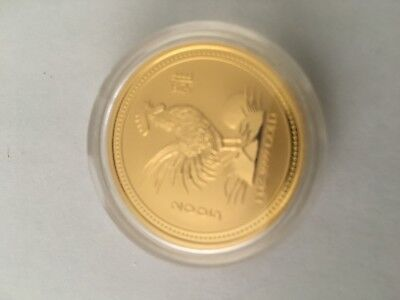 2005 Lunar Rooster 1oz gold coin-very rare!!!
