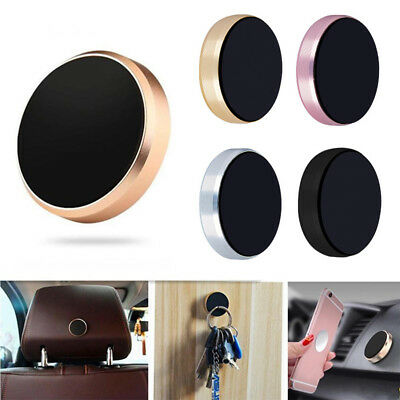 1PC Magnetic Car Mount Universal Flat Stick-on Dashboard Holder Cell Phone GPS