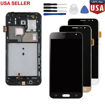 For Samsung Galaxy J3 2016 J320F SM-J320FN LCD Display Touch Screen + Frame US