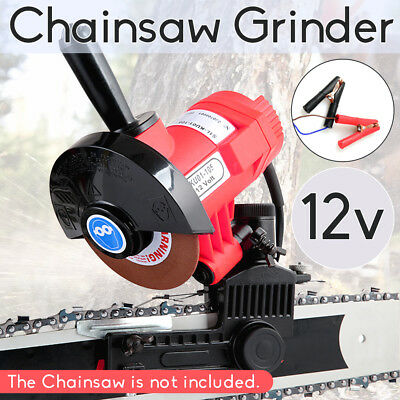 Chainsaw Sharpener Carbide Chain Saw Electric Grinders W/ 4X Grinding Wheels NEW